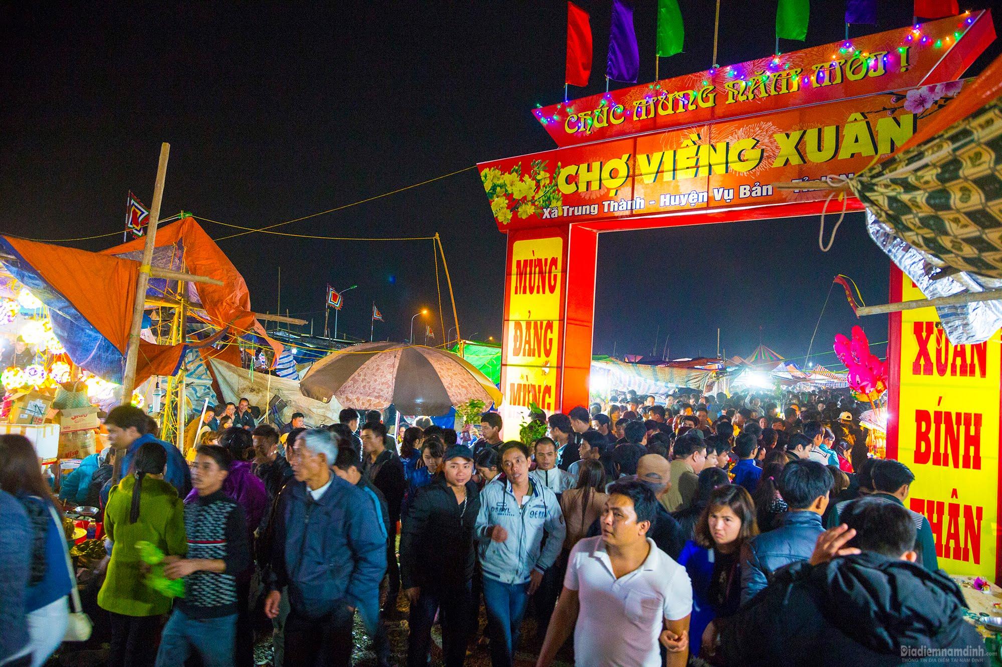 Chợ Viềng Nam định ở Huyện Nào: Địa Điểm Nam Định