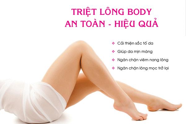 Top 5 địa chỉ Spa triệt lông tại Nam Định