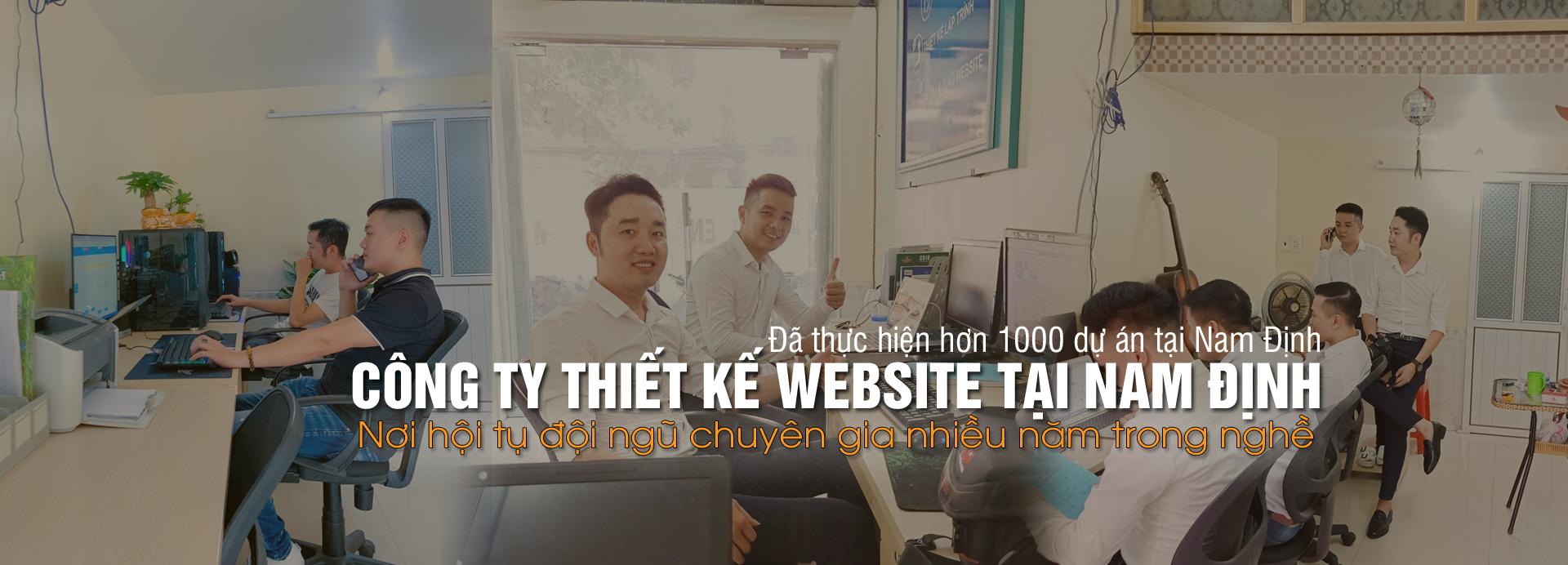 Top địa chỉ thiết kế website tại Nam Định