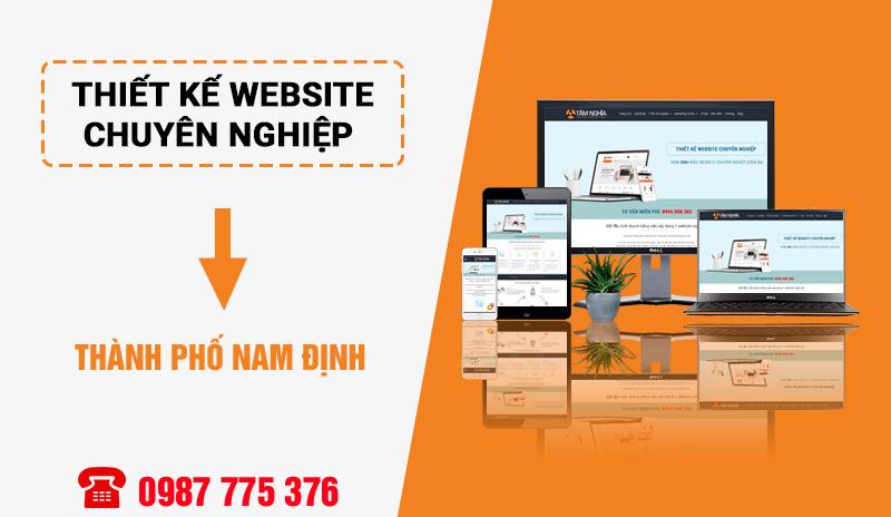 Thiết kế web chuyên nghiệp Nam Định